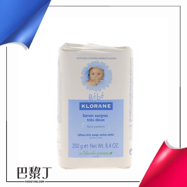 Klorane 蔻蘿蘭 寶寶保濕乳霜皂 250g【巴黎丁】