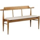 椅子 SB-424-9 梅長蘇栓木灰色皮雙人椅【大眾家居舘】