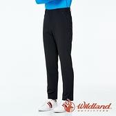 【wildland 荒野】男 彈性輕薄抗UV長褲『黑色』0A91320 戶外 休閒 運動 露營 登山 吸濕 排汗 快乾