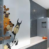 磨砂玻璃貼膜浴室廁所衛生間推拉門貼透光不透明防透窗戶玻璃貼紙【全館免運】