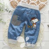男童牛仔七分褲 2018新款兒童短褲五分褲春夏季嬰兒寶寶長褲子薄