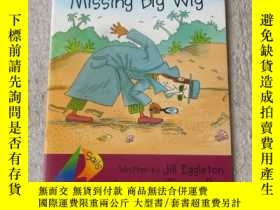 二手書博民逛書店The罕見Mystery of Missing Big Wig(