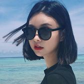 新款眼鏡女韓版潮復古原宿2018新款墨鏡圓臉街拍太陽鏡ins