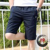 大呎碼短褲寬鬆休閒薄款大碼純棉韓版運動褲子 JD3682【3C環球數位館】