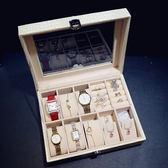 個性創意男士手錶收納盒腕錶包裝禮品歐式首飾盒飾品盒禮品錶盒