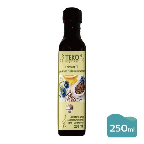TEKO~亞麻籽油250ml/罐