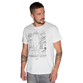 PROTEST 男 短袖T恤 (貝殼白) MARTY T-SHIRT