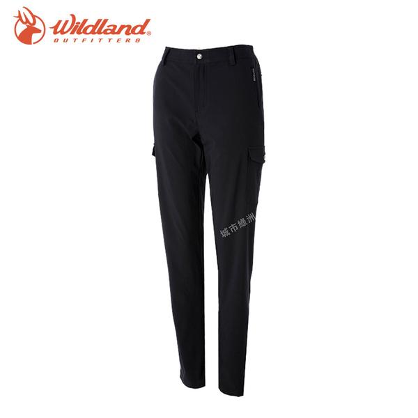 【WildLand荒野】S2373女彈性貼袋四季款休閒長褲 (S~2L) / 城市綠洲 (雙向彈性、露營、休閒、旅行)
