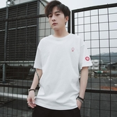 男士短袖t恤夏季潮流韓版寬鬆半袖男裝體恤衣服