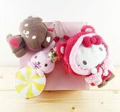 【震撼精品百貨】Hello Kitty 凱蒂貓~聖誕絨毛擺飾-kitty圖案-小紅帽