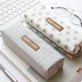創意簡約筆袋韓國小清新學生文具袋女大容量鉛筆袋 9號潮人館
