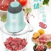 絞肉機 新品多功能電動料理機絞肉絞餡機家用小型蒜蓉泥機迷你絞菜碎菜器