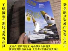 二手書博民逛書店atw罕見air transport world februar