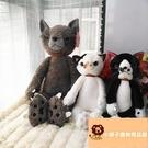 小寵物貓咪貓咪毛絨玩具公仔玩偶貓咪毛絨玩具公仔玩偶貓【小獅子】