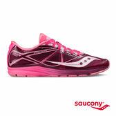 SAUCONY TYPE A 輕量競速專業競速鞋款-粉紅x紫