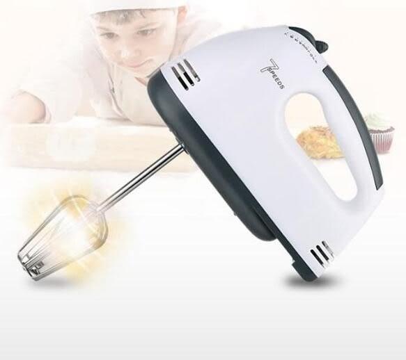 打蛋器 110V七檔電動打蛋器電動家用手持旋轉攪拌機多功能和面機 雲雨尚品