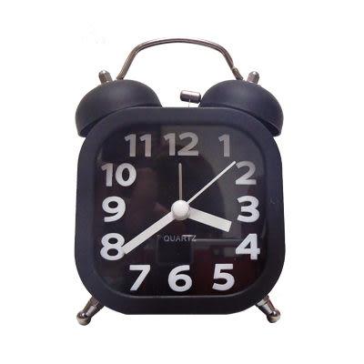 [AWANA]簡約時尚方塊鬧鐘(低調黑)