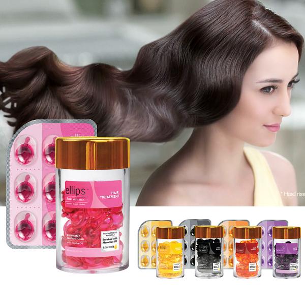 印尼 ELLIPS 護髮膠囊 單片6顆入 頭髮救星 Hair Vitaminn 免沖洗【PQ 美妝】NPRO