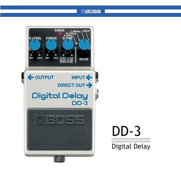 【非凡樂器】BOSS DD-3 Digital Delay數位延遲效果器 / 公司貨保固