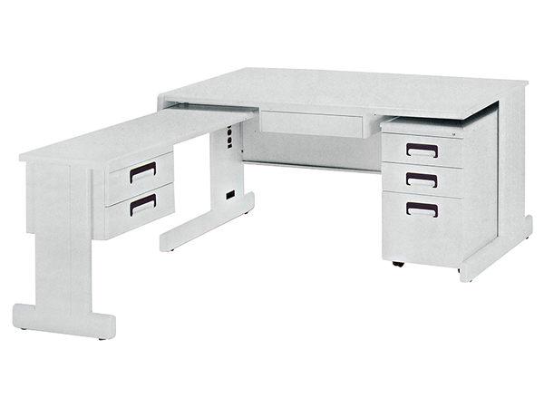 【森可家居】HU-150辦公電腦桌(空桌) 7JX283-2