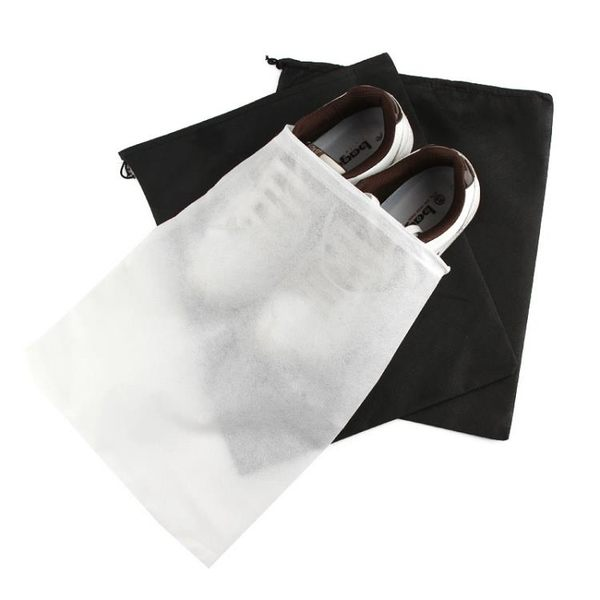 [超豐國際]無紡布裝鞋子的袋子收納袋旅行收納包鞋包束口袋防塵袋鞋袋