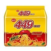 味丹449乾麵舖川味勁辣風味袋麵100g x5包【愛買】