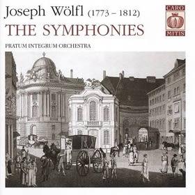 經典數位~俄羅斯室內管弦樂團 - 魏爾弗 : 兩首交響曲/ P.I.O - Joseph Wolfl:The Symphonies