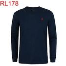 RalphLauren polo 當季最新現貨 男 長袖 T恤 T-SHIRT RL178