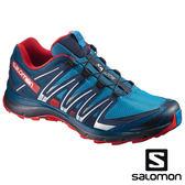 【SALOMON 法國】男 XA LITE 野跑鞋『蔚藍/海神藍/繽紛紅』398448 越野鞋|慢跑鞋|登山鞋