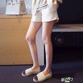 (萬聖節狂歡)棉麻孕婦短褲夏外穿寬鬆大尺碼褲子托腹褲闊腿打底褲薄款孕婦裝夏裝
