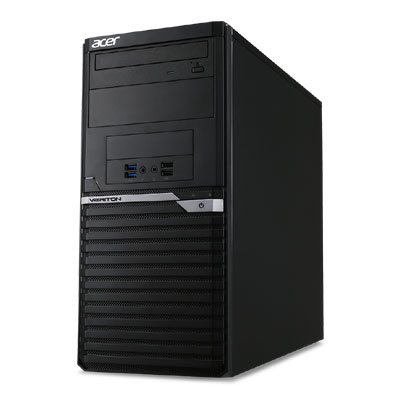Acer Veriton M4650G SSD商用主機【Intel Core i5-7500 / 8GB / 250GB SSD M.2 / W10P / Office 2019 企業版】