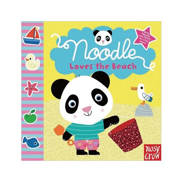 Noodle 的海邊渡假-觸摸書(美國版)