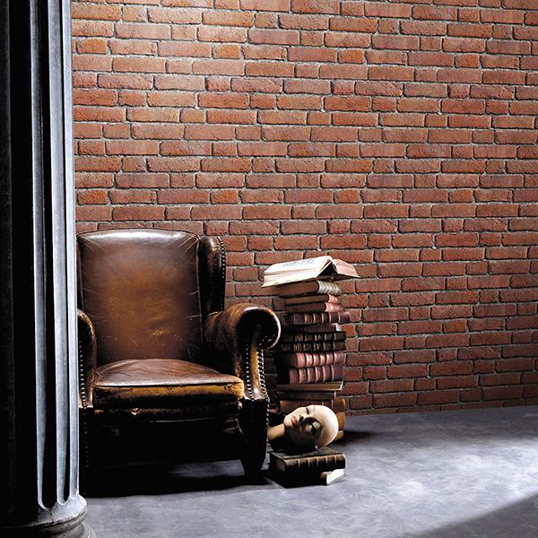 文化石【法國牆紙】工業風 磚紋壁紙 法國壁紙