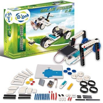 【限宅配】綠色能源系列-太陽能驅動創意組 #7303-CN 智高積木 GIGO 科學玩具 (購潮8)