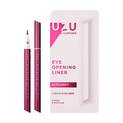 酒紅 UZU EYE OPENING LINER 升級版MOTELINER 大和匠筆眼線液筆 FLOWFUSHI 另售 canmake 肌研白潤 DHCFANCL