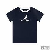 KANGOL 童 圓領T(短) 撞色圓領T-6126500680
