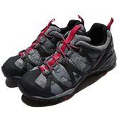 Merrell 戶外鞋 Siren Hex Q2 GTX 灰 紅 Gore-Tex 防水 透氣 越野 休閒鞋 運動鞋 女鞋【PUMP306】 ML15892
