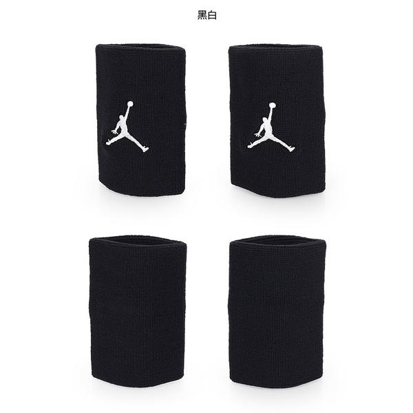 NIKE Jordan Jumpman單色腕帶(飛人喬登 籃球 NBA 護腕 一雙入≡體院≡ JKN01