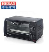 【HERAN 禾聯】9L二旋鈕電烤箱 HEO-09K1
