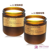 P.F. Candle Co. 美國手工大豆蠟香氛蠟燭(12.5oz)-多款可選[琥珀綠苔/檀香玫瑰]【美麗購】