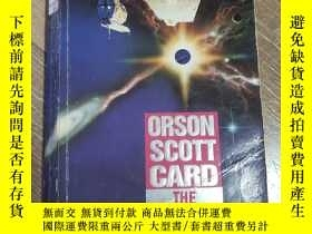 二手書博民逛書店The罕見worthing saga科幻小說Y31330 Orson scott card 無