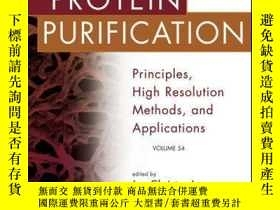 二手書博民逛書店Protein罕見Purification: Principles, High Resolution Method