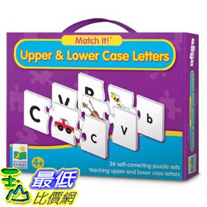[美國直購] 2016美國暢銷兒童書 Upper And Lower Case Letters The Learning Journey Match It!