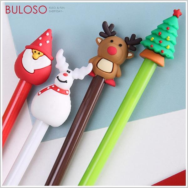 《不囉唆》聖誕-造型中性筆 聖誕樹筆/雪人筆/馴鹿筆/麋鹿筆(不挑色/款)【A429127】