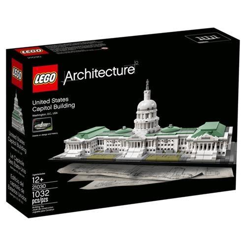 LEGO 樂高 Architecture 21030 United States Capitol (1032 Piece)