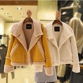 超殺29折 韓國風加厚麂皮絨羊羔毛單品外套