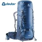 丹大戶外用品 德國【Deuter】AIRCONTACT 65+10 拔熱式透氣背包 3320519 藍
