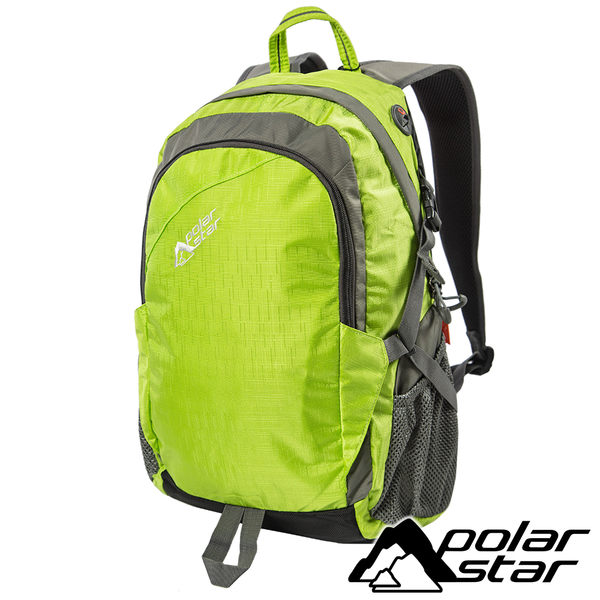 【PolarStar】休閒背包25L『綠』露營.戶外.旅遊.自助旅行.多隔間.登山背包.電腦背包 P15811-401