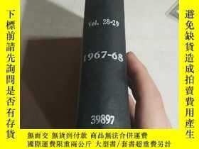 二手書博民逛書店RECORD罕見OF CHEMICAL PROGRESS.Vol