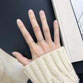 戒指 冷淡風戒指女日韓潮人學生個性網紅 純銀食指戒指女大氣 「潔思米」